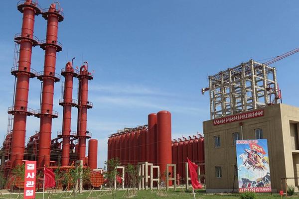 الصناعة الكيميائية في كوريا الشمالية