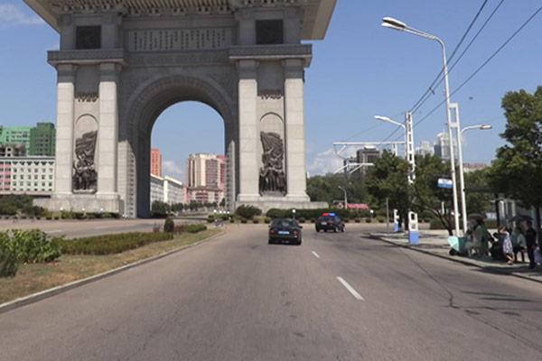 Правила дорожного движения в КНДР