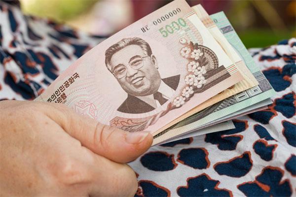 Das Banknotendesign in Nordkorea (1)