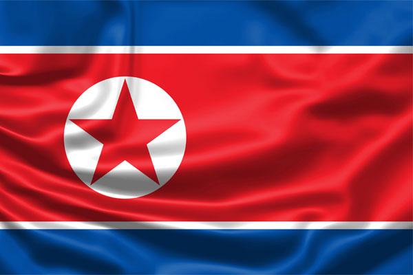 Poster propaganda di Korea Utara
