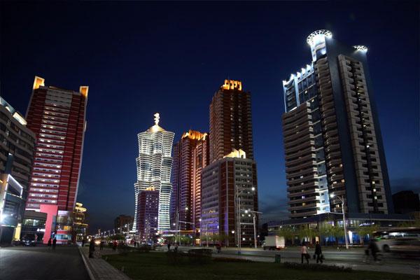Les hôtels en Corée du Nord