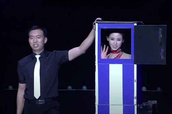 北韩的魔术