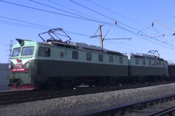 Jalur Kereta Api di Korea Utara