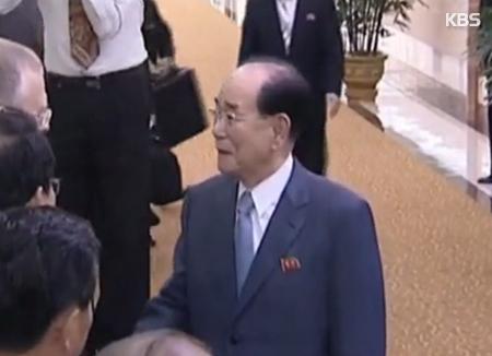 Nordkoreas nominelles Staatsoberhaupt kommt nach Südkorea