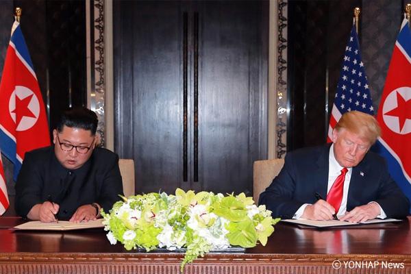 Einen Monat nach dem Gipfeltreffen zwischen Trump und Kim