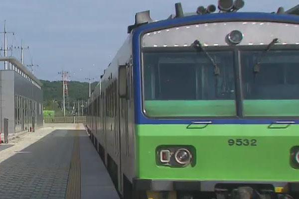 2000年南北韩铁路首次恢复连接