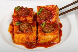 Dubu-jorim (simmered tofu)두부조림