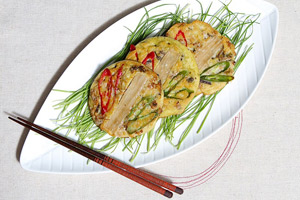 Nokdu-bindaetteok (녹두빈대떡)