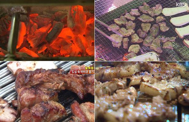 Жареное мясо сутпулькуи - сочетание традиций и истории.  Часть 2 (숯불구이2)