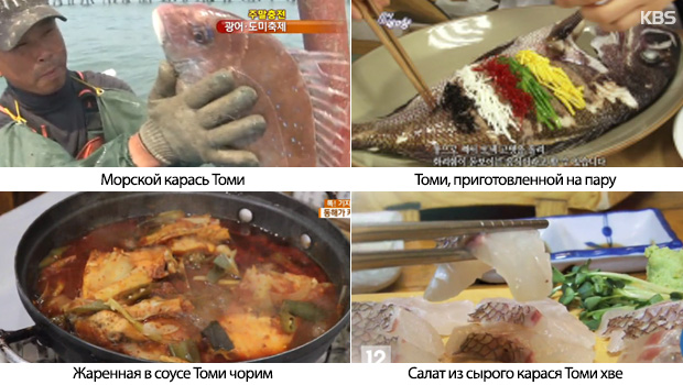 Рыба томи: о происхождении любви корейцев к рыбьим головам Часть 1 (도미1)
