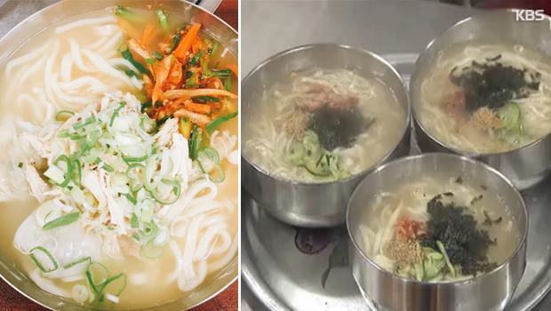 Почему корейцы едят суп с лапшой кхалькуксу летом? Часть 2 (칼국수 2)