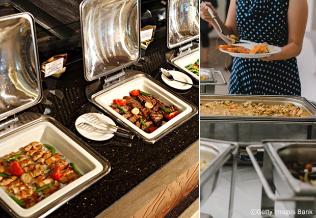 Буфеты, или корейские рестораны со шведским столом (한국의 뷔페)