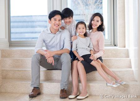 La famille en Corée