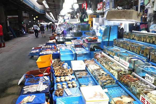 Le poisson en Corée du Sud