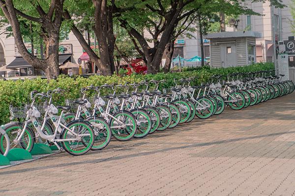 Naik Sepeda Ttareungi
