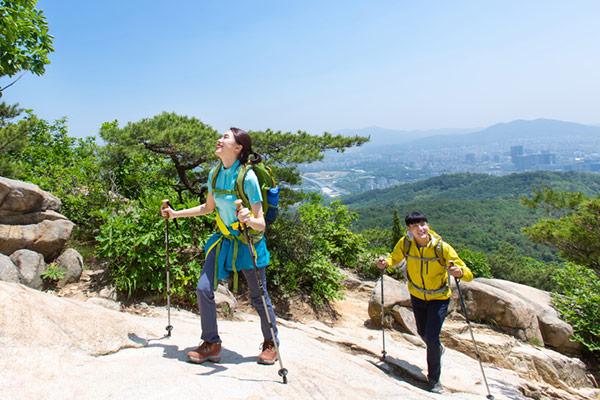 Wandern in Korea, ein Volkssport