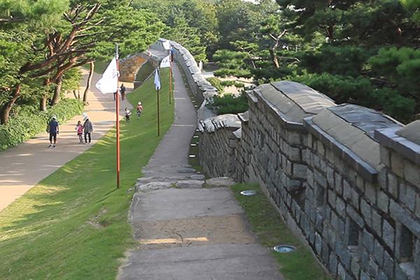 Les forteresses en Corée du Sud