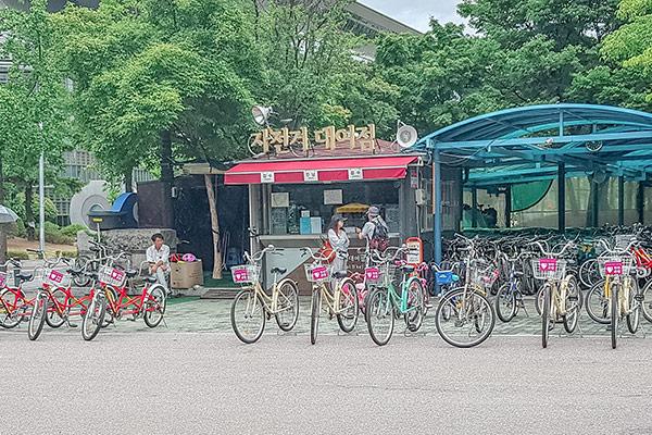Naik Sepeda dari Yeouido ke Hangang