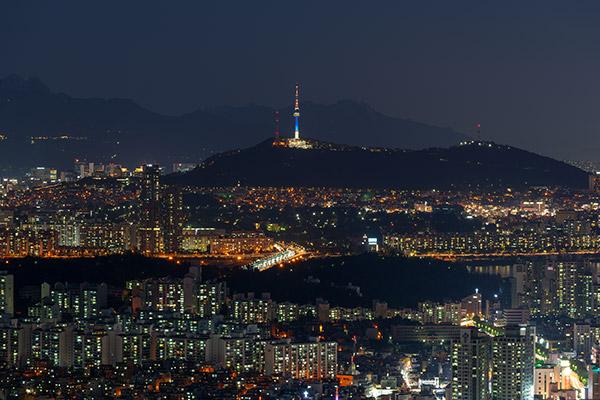 La nuit en Corée