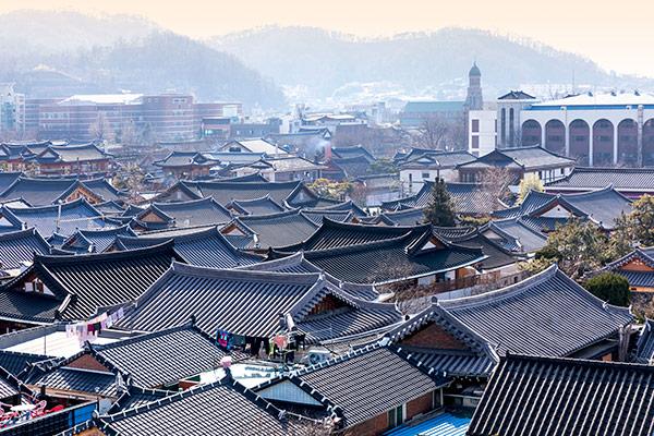 La ville de Jeonju