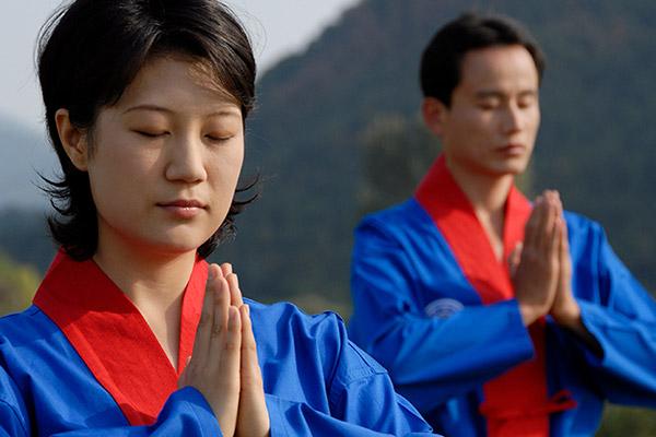 Le « kouk sundo », la méditation coréenne