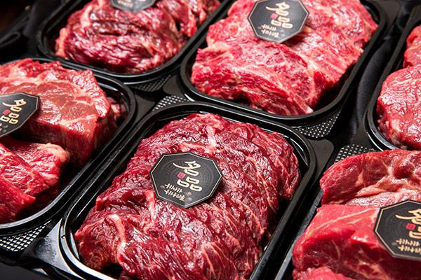 Le marché de la viande en Corée du Sud
