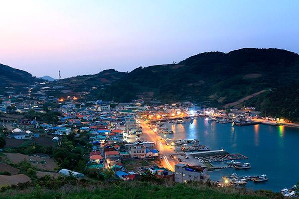 Tongyeong et ses environs