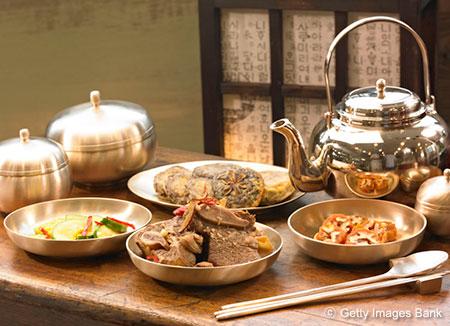 Les plats de Seollal