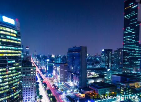 Le quartier de Cheongdam-dong
