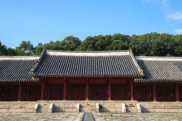 Le sanctuaire de Jongmyo