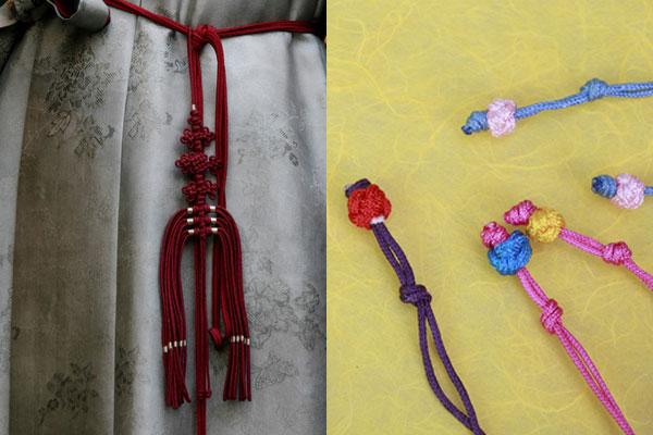 Maedup, l'art des nœuds coréens