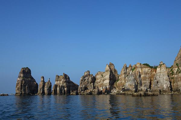 Baengnyeong-do, île de tous les dangers et pourtant si paisible