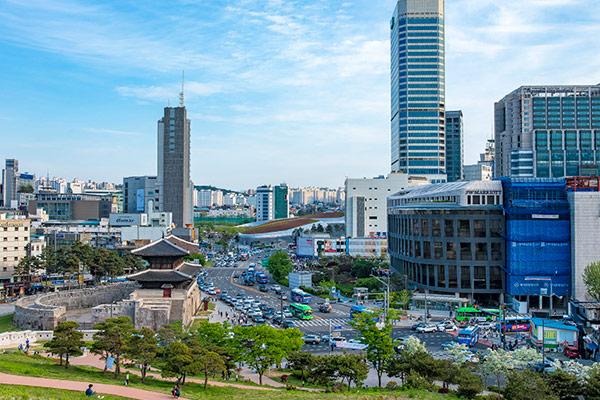 Le marché Jonghap de Dongdaemun