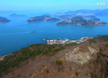 Table de la presqu'île de Goheung
