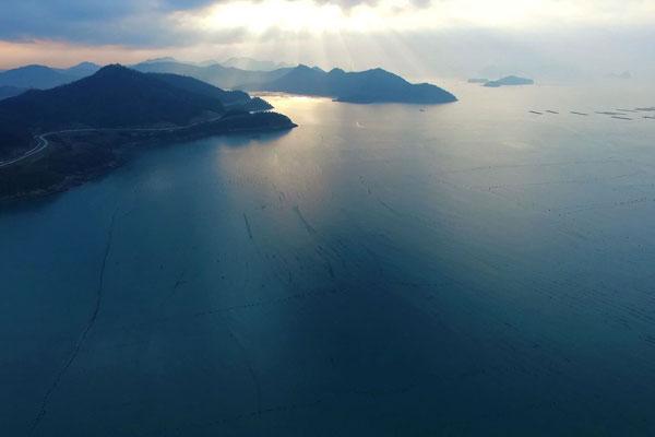 Retour à la mer d'hiver à Sinan (I)