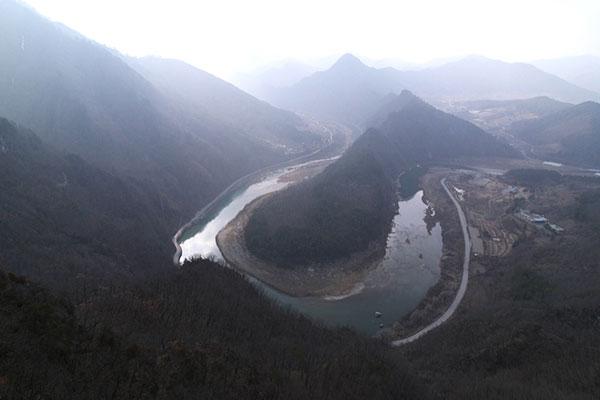 Printemps sur le fleuve Donggang