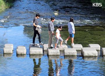 ソウルの都心を流れる川、清渓川の復活