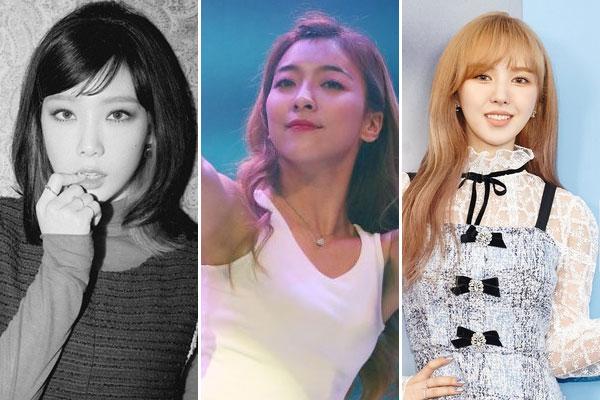 «Три дивы SM Entertainment»: Тхэ Ён, Луна и Вэнди