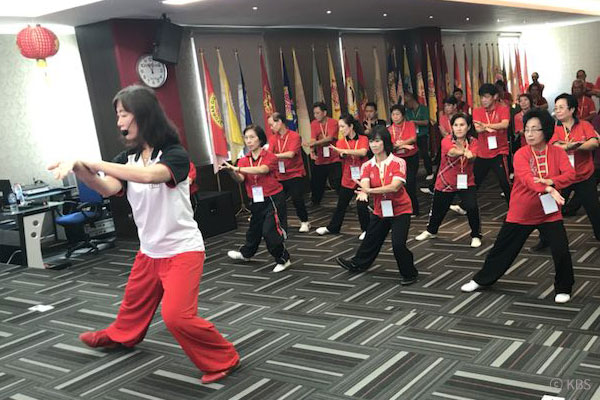 让中国武术传遍韩国