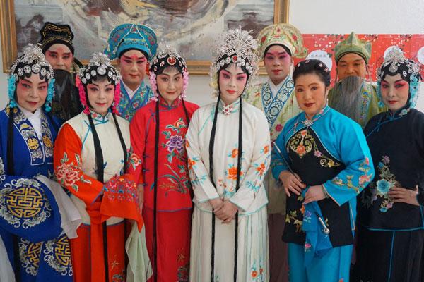 中国评剧在韩国