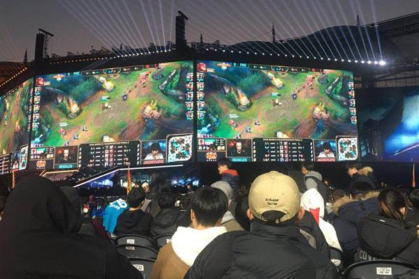 韩中电子游戏交流