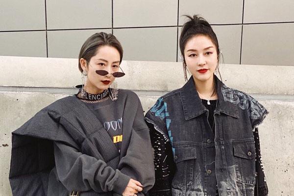 秋季孔雀开屏的季节-韩国时装季