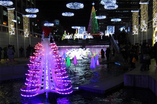 在韩国过圣诞