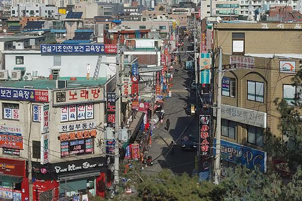 首尔华人的新型流通-返品超市