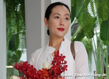 韓服のデザイナー、キム・ヨンジン