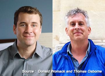 Hai nhà soạn nhạc Donald Womack và Thomas Osborne và tình yêu dành cho nhạc truyền thống Hàn Quốc
