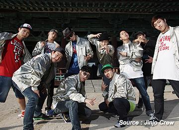 Jinjo Crew, nhóm B-boy số một thế giới của Hàn Quốc