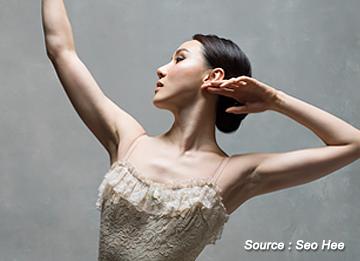 Die Primaballerina am American Ballet Theater Seo hee