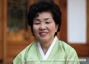 Han Bok Ryo, maestra de la cocina palaciega del período Joseon