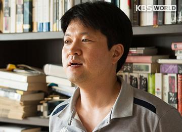 Der Verleger von Genre-Literatur Kim Hong-min